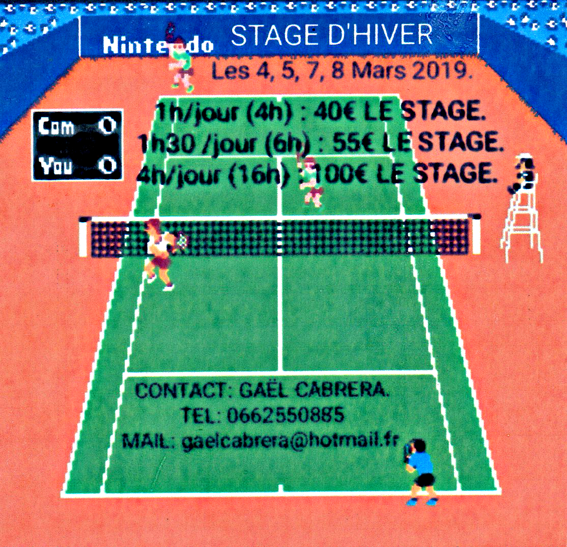 Flyer stage d'hiver